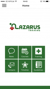Lazarus Training App 2